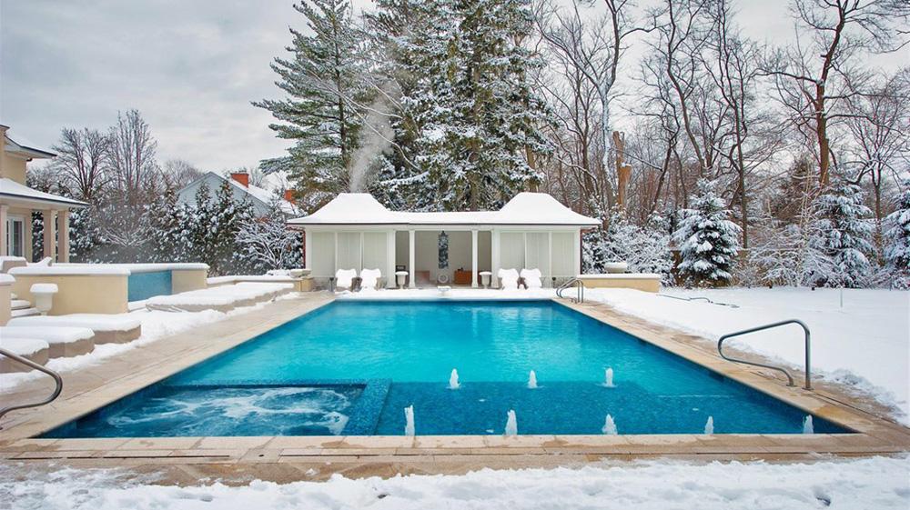 Profiter de sa piscine en hiver